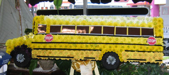 bus spray in Belford NJ, Flower Power Florist & Gifts