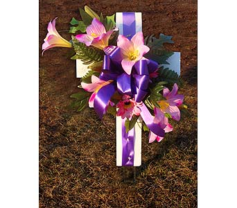 Silk Cross in Staten Island NY, Grapevine Garden and Florist