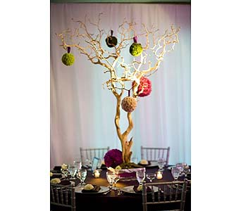 Reception / Centerpiece in West Los Angeles CA, Westwood Flower Garden