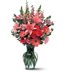 Marvelous Pinks in Evansville IN, Cottage Florist & Gifts