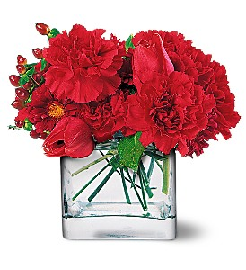 Passionate Reds in Metairie LA, Golden Touch Florist