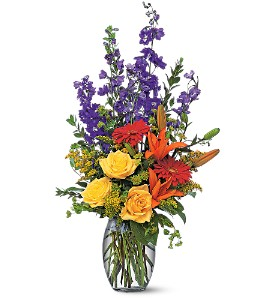Colorful Sensation in Gautier MS, Flower Patch Florist & Gifts