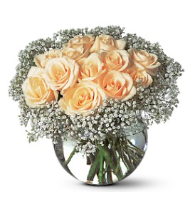 A Dozen White Roses in Etobicoke ON, Flower Girl Florist