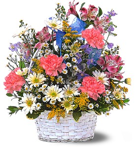 Jubilee Basket in Oakville ON, Margo's Flowers & Gift Shoppe