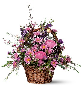 Basket of Blossoms in Medicine Hat AB, Crescent Heights Florist