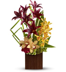 Teleflora's Bamboo Oasis in Rancho Santa Fe CA, Rancho Santa Fe Flowers And Gifts