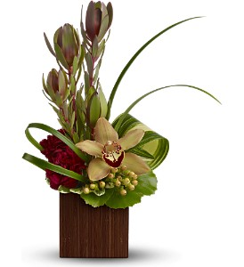 Teleflora's Bamboo Eden in Calgary AB, The Flower Jug