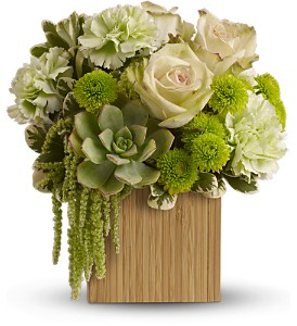 Teleflora's Bamboo Mist in Fort Worth TX, TCU Florist
