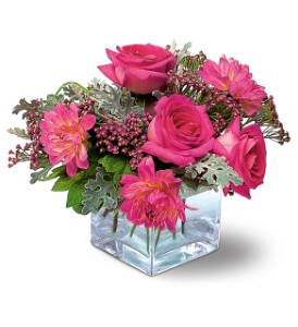 Perfect Pink Harmony in Modesto, Riverbank & Salida CA, Rose Garden Florist