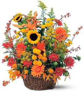 Majestic Fall in Largo FL, Rose Garden Florist