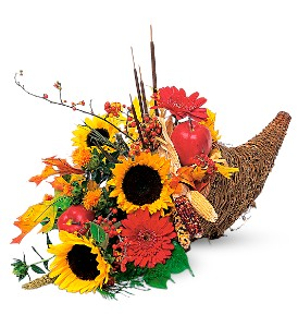 Autumn Cornucopia in Toms River NJ, Village Florist