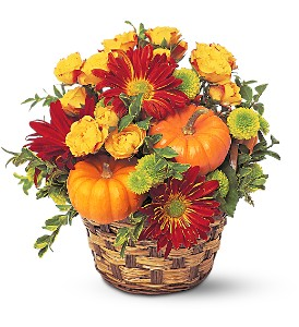 Hint of Fall in San Marcos CA, Lake View Florist