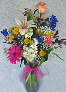 Touch of Holland Vase in Naples FL, Gene's 5th Ave Florist