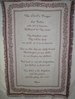 THE LORD''S PRAYER in Lebanon OH, Aretz Designs Uniquely Yours