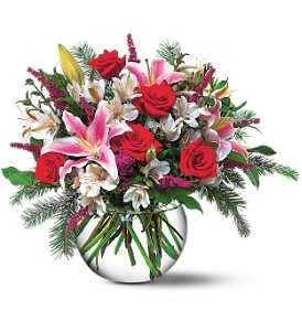 Holiday Happiness in Georgetown ON, Vanderburgh Flowers, Ltd