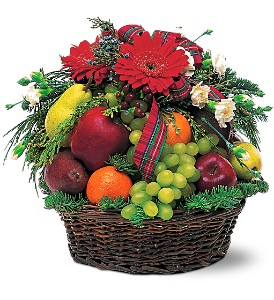 Fabulous Fruit Basket in Houston TX, Fancy Flowers