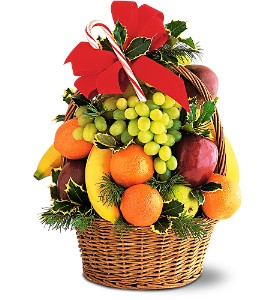Tower of Fruit in Fairfield CT, Town and Country Florist