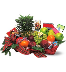 Fruit and Gourmet Basket in Friendswood TX, Lary's Florist & Designs LLC