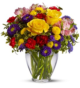 Brighten Your Day in Thorp WI, Aroma Florist
