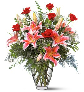 Celebrations Bouquet in Modesto, Riverbank & Salida CA, Rose Garden Florist