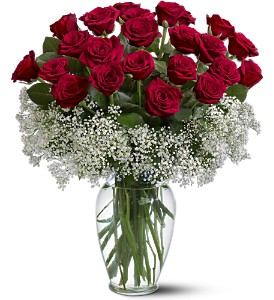 Field of Roses in Metairie LA, Golden Touch Florist