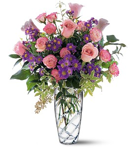 Pink Elegance Bouquet in West Bloomfield MI, Happiness is...Flowers & Gifts