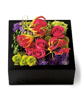 Pav� Texture Square in Inglewood CA, Inglewood Park Flower Shop