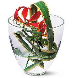Gloriosa Under Glass in Rancho Santa Fe CA, Rancho Santa Fe Flowers And Gifts