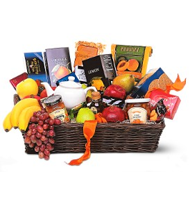 Grande Gourmet Fruit Basket in San Clemente CA, Beach City Florist