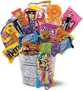 Junk Food Bucket in Sayville NY, Sayville Flowers Inc