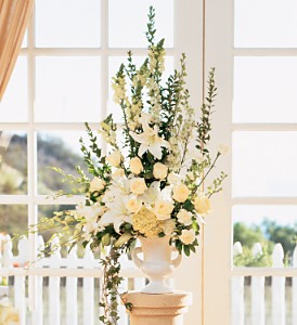 Home Ceremony Wedding Vows Arrangement in Fort Lauderdale FL, Brigitte's Flowers Galore
