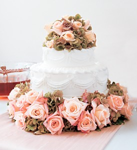 Sweet Visions Wedding Cake Decoration in Fort Lauderdale FL, Brigitte's Flowers Galore