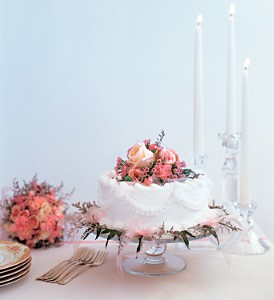 Pink Adornment Cake Top in Fort Lauderdale FL, Brigitte's Flowers Galore