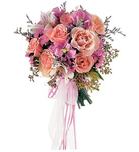 Pretty as a Picture Presentation Bouquet in Fort Lauderdale FL, Brigitte's Flowers Galore