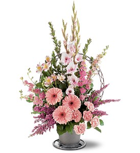 Hopeful Pink Basket in Bend OR, All Occasion Flowers & Gifts