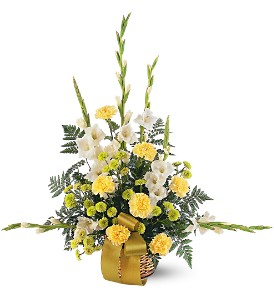 Vibrant Yellow Basket in Bend OR, All Occasion Flowers & Gifts