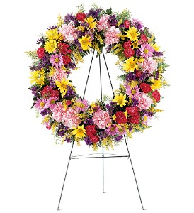 Eternity Wreath in Bowmanville ON, Van Belle Floral Shoppes