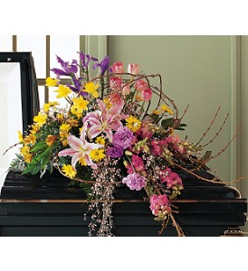 Eternal Spring Half-Couch Spray in Bend OR, All Occasion Flowers & Gifts
