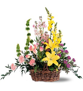 Springtime Basket in Bonita Springs FL, Bonita Blooms Flower Shop, Inc.