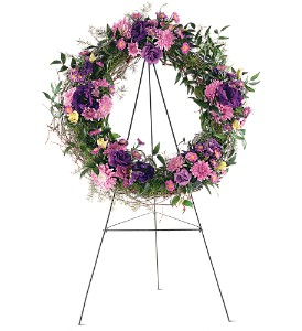 Grapevine Wreath in Abington MA, The Hutcheon's Flower Co, Inc.