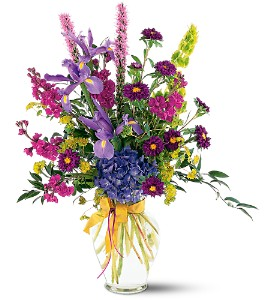 Lush Lavenders Bouquet in Beaumont CA, Oak Valley Florist