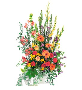 Summer Sentiments Arrangement in Oklahoma City OK, Capitol Hill Florist and Gifts