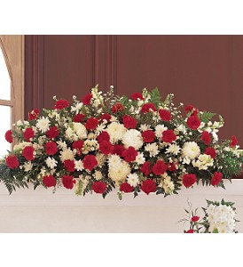 Hope and Honor Casket Spray in Bend OR, All Occasion Flowers & Gifts