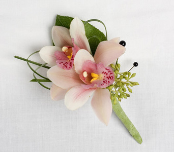 Mini Cymbidium Orchid Boutonniere in St Catharines ON, Vine Floral