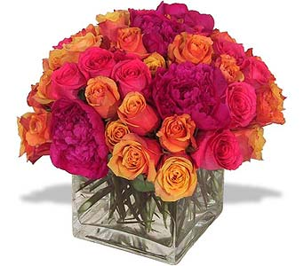 Springs the Color of My Love in New York NY, Fellan Florists Floral Galleria