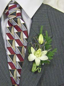 Dendrobian Orchid Boutonni�re in Royersford PA, Three Peas In A Pod Florist