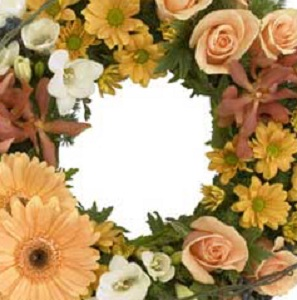 Designer's Choice Sympathy Service Wreath in Burlington NJ, Stein Your Florist