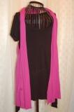 Black Shirt Dress with Hot Pink Vest in Henderson NV, A Country Rose Florist, LLC