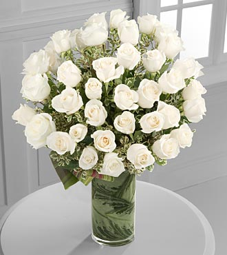 Clarity Luxury Rose Bouquet in Chicago IL, Yera's Lake View Florist