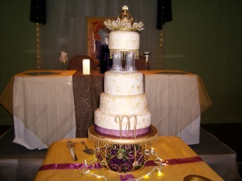 Wedding Cake 3 in Gautier MS, Flower Patch Florist & Gifts